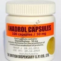 Androlic (Анаполон, Оксиметалон) British Dispensary 100 таблеток (1таб 50 мг)